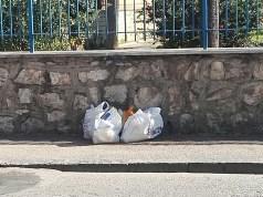 Rifiuti abbandonati per strada, il rispetto per l'ambiente parte anche dal cittadino
