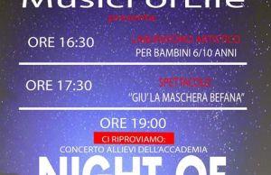 """Il concerto """"Night of Note"""" si farà il 4 gennaio alla Cilea"""