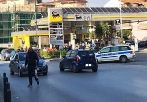 Posto di blocco Polizia Locale