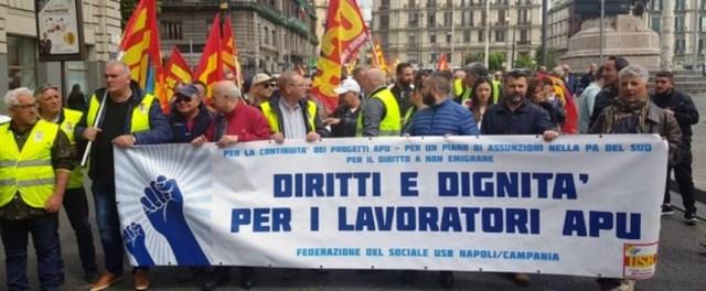lavoratori APU