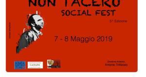 Non tacerò, il Social Fest, il 7 e l'8 maggio all' Auditorium di Caivano