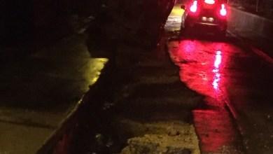Photo of Citara, crolla un tratto di strada: tanto spavento, nessun ferito