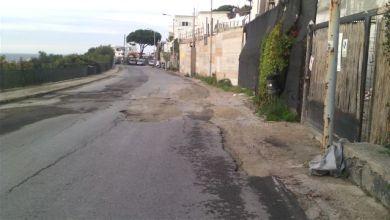 "Photo of Via Provinciale Panza, chiamatela strada ""gruviera"""
