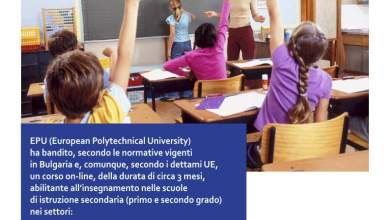 Photo of Corso abilitante alla professione di docente