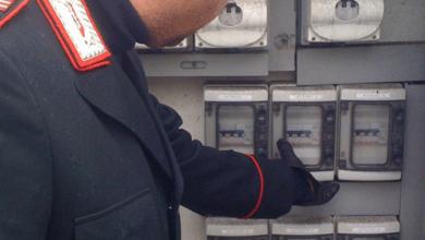 Photo of Rubano corrente elettrica, in tre nei guai: denunciati dai carabinieri