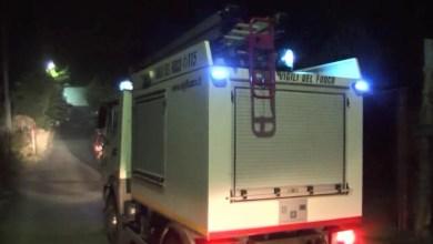 Photo of Notte di paura a Fiaiano, incendio sfiora le case