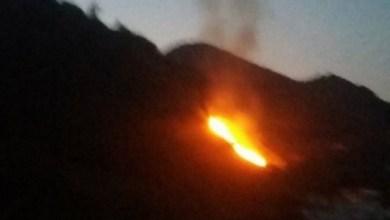 Photo of Fiamme a Piedimonte, paura per alcune abitazioni
