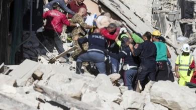 Photo of Terremoto, Ciccio Buono e Luigi Patalano nell'inferno di Arquata