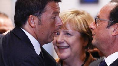Photo of Renzi, Hollande e Merkel in arrivo a Ventotene