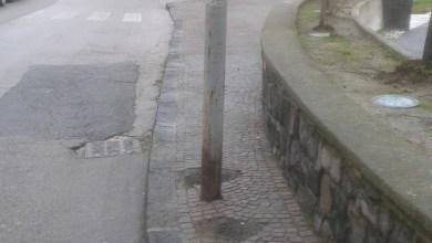 Photo of A Testaccio marciapiede per il palo…
