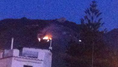 Photo of Fiamme a Santa Maria al Monte