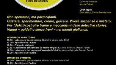 """Photo of Arriva """"Gialli a Ischia"""": gastronomia tra giallo e noir, coinvolte anche alcune scuole isolane"""
