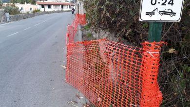 Photo of Muretto cede nei pressi di via Casale, quella barriera non basta
