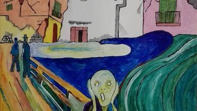 """Photo of """"L'urlo del Majo"""", il suggestivo dipinto di Antonio Mazza"""