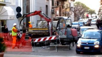 Photo of Corso Francesco Regine, ci sono i lavori: il caos regna sovrano
