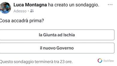 Photo of Il sondaggio di Montagna: prima la giunta o il nuovo governo?