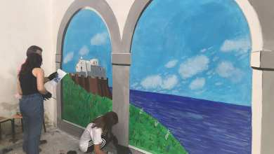 """Photo of """"Creativa…mente"""": un murales per l'inclusione nella scuola che guarda oltre l'orizzonte"""