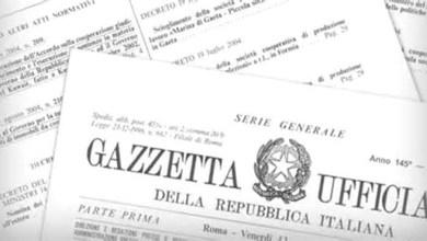 Photo of Il Decreto Ischia pubblicato sulla Gazzetta Ufficiale