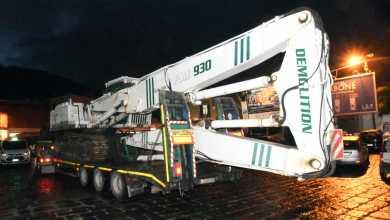 Photo of Litoranea di casamicciola, iniziata la demolizione del muraglione: si prosegue di notte