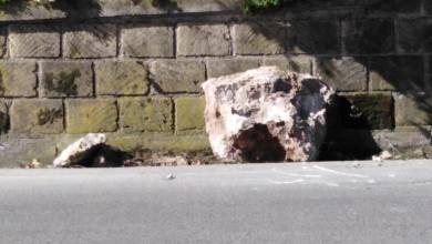 Photo of Massi crollano sul manto stradale, paura sulla Superstrada