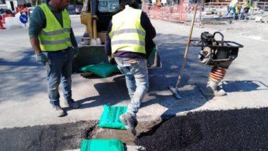 """Photo of LA FOTONOTIZIA Piazza degli Eroi, scavo ultimato: torna il """"sereno"""""""
