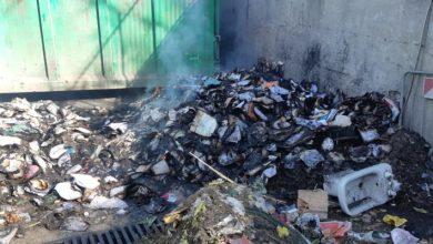 Photo of Fiamme nell'area ecologica, distrutti documenti del Comune