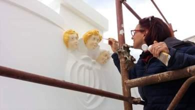 Photo of Chiesa del Soccorso, tre cherubini tornano alla luce