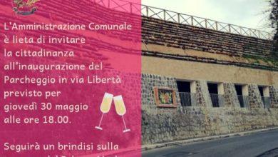 Photo of Domani l'inaugurazione del parcheggio in via Libertà
