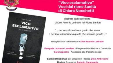 """Photo of L'EVENTO A Procida si presenta """"Voci del rione Sanità"""""""