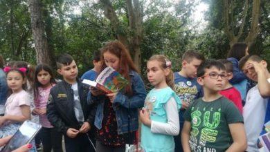 Photo of Grande entusiasmo per la staffetta di lettura su via Edgardo Cortese