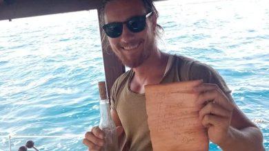 Photo of Il mare restituisce un messaggio d'amore in bottiglia