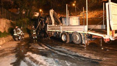 Photo of Incendiarono il camion della ditta concorrente, arrestati Alberto Della Gatta e Vittorio Verde