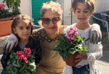 Photo of Il vicoletto fiorito si fa bello per la visita del Vescovo