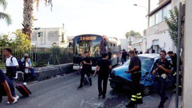 Photo of Scentone, si schianta contro bus: l'autista positivo all'alcoltest