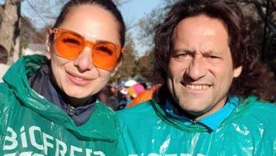 Photo of Quante emozioni per Gianni e Luana, l'entusiasmo della maratona di New York
