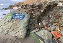 Photo of Forio, frana alla spiaggia di Cava dell'isola