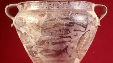 """Photo of Anteprima """"Thalassa"""" alla Borsa del Turismo Archeologico. Da Pithecusae il Cratere del Naufragio in mostra al MANN"""