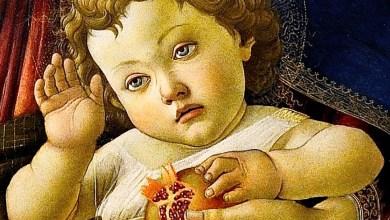 Photo of Il Botticelli dipinse la Madonna col melograno e il bambino