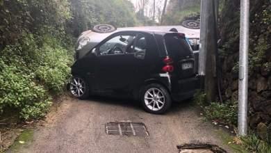 Photo of Incidente a Casamicciola, auto si ribalta in via Nizzola