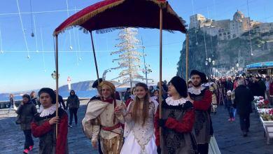 Photo of Questa mattina l'antico popolo del Borgo di Celsa scende in piazza per salutare le nozze di Vittoria Colonna con Ferrante D'Avalos