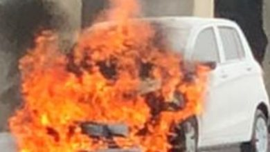 "Photo of Piedimonte, auto ""divorata"" dalle fiamme"
