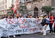 """Photo of Disastro scuole, anche la """"voce"""" di Ischia nel corteo di Napoli"""