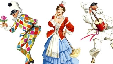 Photo of Tre maschere famose stanno dominado il nostro carnevale: Arlecchino, Pulcinella e Colombina