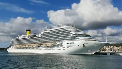 Photo of Finita l'Odissea della Costa Diadema, la nave è al porto di Piombino