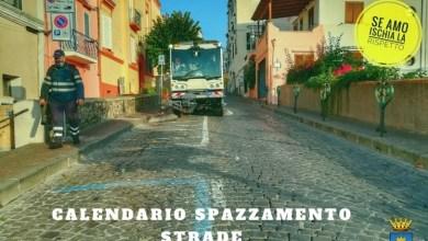 Photo of ISCHIA Riprende lo spazzamento delle strade, ecco il calendario