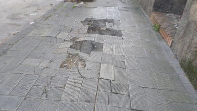 Photo of Ischia, marciapiedi di via Antonio Sogliuzzo: ecco dove (e come) evitare una caduta rovinosa