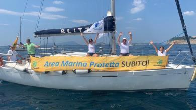 """Photo of """"Vir o mare quant'è bell"""", flash sea mob di Legambiente per chiedere nuove AMP"""