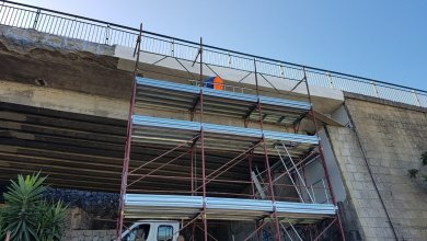 Photo of LA FOTONOTIZIA Sopraelevata, continuano i lavori al Ponte Melan