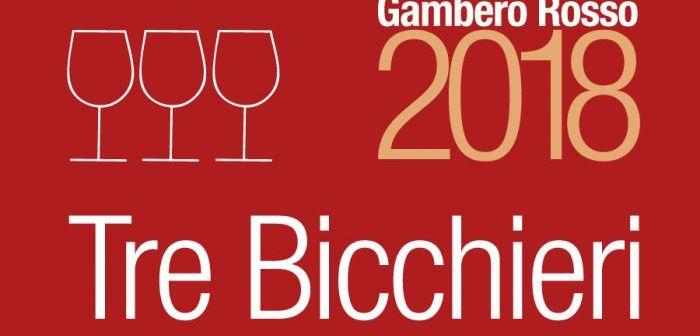 """I Tre Bicchieri della Liguria per la Guida """"Vini d'Italia 2018"""" del Gambero Rosso"""