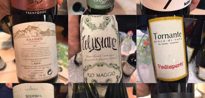 Catalogo di Proposta Vini 2019, due giorni, 240 vini degustati per sceglierne 10 veramente interessanti